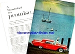1960 FORD THUNDERBIRD T-BIRD Color Auto Ad