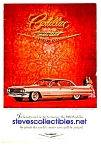 Click here to enlarge image and see more about item MAU120406I4: 1961 Finned CADILLAC Auto Magazine Ad
