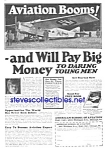 Click here to enlarge image and see more about item MAV010407C9: 1927 American Aviation School LEARN TO FLY Ad