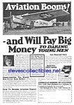Click here to enlarge image and see more about item MAV010407E4: 1926 American Aviation School LEARN TO FLY Ad