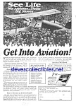 Click here to enlarge image and see more about item MAV031207C3: 1927 American Aviation School LEARN TO FLY Ad