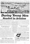 Click here to enlarge image and see more about item MAV122106F7: 1926 American Aviation School LEARN TO FLY Ad