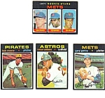 Click here to enlarge image and see more about item MBB113006A8: 1971 Topps #648 JOHN MATLACK Rookie Baseball Card Lot