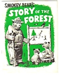 1957 SMOKEY BEAR Story of the Forest ACTIVITY BOOK