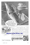 Click here to enlarge image and see more about item MBT121806A9: 1944 EVINRUDE Boat Motor Mag. Ad