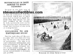 1923 RACING MOTORCYCLES Mag. Article
