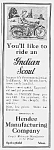 Click here to enlarge image and see more about item MC0529CC1: 1922 INDIAN SCOUT Motorcycle Ad