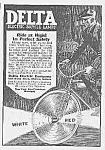1923 DELTA Electric Bicycle Lamp/Light Ad