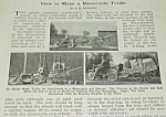 Click here to enlarge image and see more about item MC1002AA2: 1922 HOW TO MAKE A MOTORCYCLE TRAILER Article