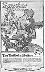 Click here to enlarge image and see more about item MC1029A2: 1920 DAYTON BICYCLE Magazine Ad
