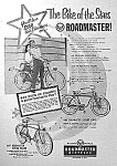 Click here to enlarge image and see more about item MC1219A5: 1954 ROADMASTER Luxury Liner+ Bicycle Ad