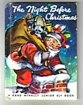 Click here to enlarge image and see more about item MCHBK021507C2: NIGHT BEFORE CHRISTMAS Jr. ELF BOOK