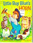 Click here to enlarge image and see more about item MCHBK0308A3: LITTLE BOY BLUE'S HORN Jr. Elf Book