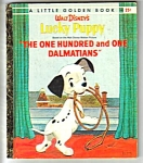 Click here to enlarge image and see more about item MCHBK031207A5: DISNEY LUCKY PUPPY (101 Dalmatians)- Little Golden Book