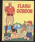Click here to enlarge image and see more about item MCHBK091508A1: FLASH GORDON - Treasure Book 1956