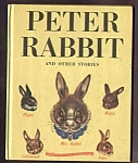 Click here to enlarge image and see more about item MCHBK091508E3: PETER RABBIT AND OTHER STORIES Wonder Book #513