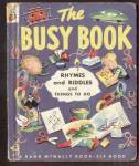 Click here to enlarge image and see more about item MCHBK091508F5: BUSY BOOK Elf Book #462