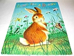 Click here to enlarge image and see more about item MCHBK1122A4: HOME FOR A BUNNY Big Golden Book
