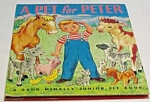 Click here to enlarge image and see more about item MCHBK1122A9: A PET FOR PETER Jr.  Elf Book