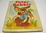 Click here to enlarge image and see more about item MCHBK1123A4: PETER RABBIT Jr.  Elf Book