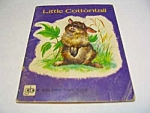 Click here to enlarge image and see more about item MCHBK1123A8: LITTLE COTTONTAIL Golden Tiny Tales Book - 1960