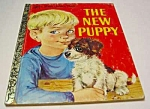 Click here to enlarge image and see more about item MCHBK1123B8: NEW PUPPY - Little Golden Book