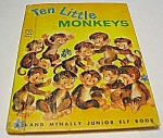 Click here to enlarge image and see more about item MCHBK1123E2: TEN LITTLE MONKEYS Jr.  Elf Bk