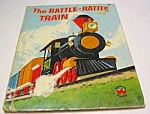 Click here to enlarge image and see more about item MCHBK1123G1: RATTLE RATTLE TRAIN Wonder Book