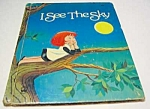 Click here to enlarge image and see more about item MCHBK1123G4: I SEE THE SKY - Wonder Book