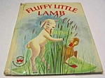 Click here to enlarge image and see more about item MCHBK1123G5: FLUFFY LITTLE LAMB Wonder Book - 1962