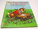 Click here to enlarge image and see more about item MCHBK1123G8: HOW PETER COTTONTAIL GOT HIS NAME Wonder Book