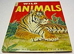 Click here to enlarge image and see more about item MCHBK1123H7: WILD ANIMALS Elf Book