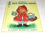Click here to enlarge image and see more about item MCHBK1129A1: Little Red Riding Hood ELF BOOK