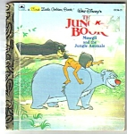 Click here to enlarge image and see more about item MCHBK120406A4: Disney JUNGLE BOOK - Mowgli - 1st Little Golden Book