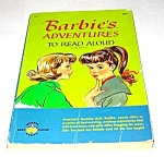 Click here to enlarge image and see more about item MCHBK1209F4: BARBIE'S ADVENTURES To Read Aloud Book