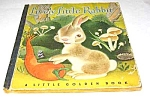 Click here to enlarge image and see more about item MCHBK1209G9: LITTLE LIVELY RABBIT - Little Golden Book  - 1944