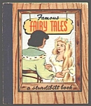 Click here to enlarge image and see more about item MCHBK1209J3: FAMOUS FAIRY TALES Sturdibilt Book - 1945