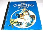 Click here to enlarge image and see more about item MCHBK1211B6: CHRISTMAS STORY - Little Golden Book