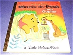 WINNIE THE POOH MEETS GOPHER - Little Golden Book