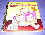 Click here to enlarge image and see more about item MCHBK1211J1: BABY's FIRST BOOK 1st Little Golden Book