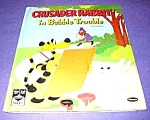 Click here to enlarge image and see more about item MCHBK1211J2: CRUSADER RABBIT in Bubble Trouble TOP TOP TALE BK 1960