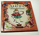 Click here to enlarge image and see more about item MCHBK1211j4: ALICE IN WONDERLAND Elf Book - 1951