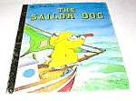 Click here to enlarge image and see more about item MCHBK1211K9: THE SAILOR DOG - Little Golden Book