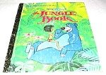 THE JUNGLE BOOK - Disney - Little Golden Book