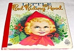 Click here to enlarge image and see more about item MCHBK1227C1: LITTLE RED RIDING HOOD Tell-A-Tale Book