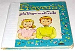 Click here to enlarge image and see more about item MCHBK1227G4: PRAYERS FOR BOYS AND GIRLS Tell-A-Tale Book
