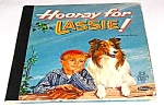 Click here to enlarge image and see more about item MCHBK1227G7: HOORAY FOR LASSIE Tell-A-Tale Book