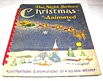 Night Before Christmas Animated Book  (POP-UPS) - 1949