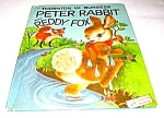 Click here to enlarge image and see more about item MCHBK1227M1: PETER RABBIT AND REDDY FOX Wonder Book #611