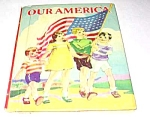 Click here to enlarge image and see more about item MCHBK1227M7: OUR AMERICA - Little Color Classics Childrens Book